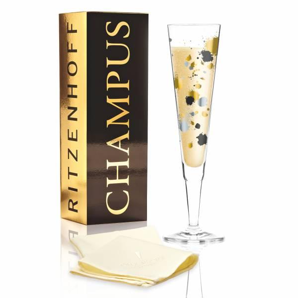 Champus Champagnerglas von Andrea Arnolt