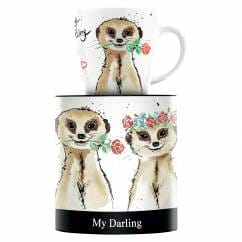 My Darling coffee mug by Michaela Koch