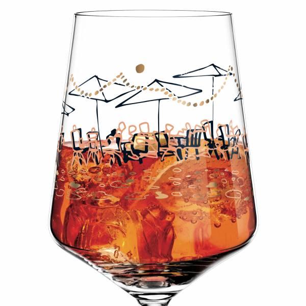 Aperizzo Aperitif Glass by Virginia Romo