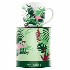 My Darling coffee mug by Melanie Wüllner