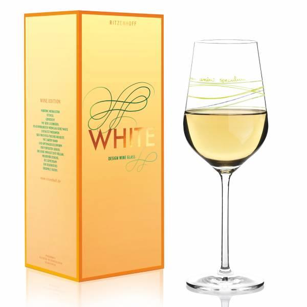 White Weißweinglas von Luca Casini
