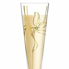 Champus Champagne Glass by Malika Novi