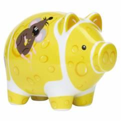 Mini Piggy Bank Set of 3 by Ramona Rosenkranz