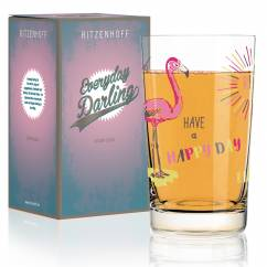 Everyday Darling soft drink glass by Michaela Koch