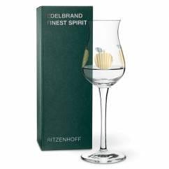 FINEST SPIRIT fine brandy glass by Angela Schiewer