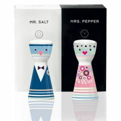 Mr. Salt & Mrs. Pepper salt and pepper set by Petra Mohr