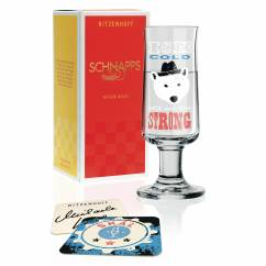 Schnapps shot glass by Michaela Koch