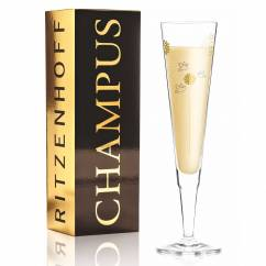 Champus Champagnerglas von Ramona Rosenkranz
