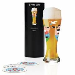 Weizen Wheat beer glass by Iris Kuhlmann