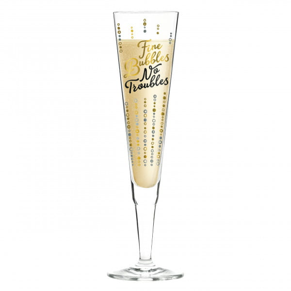 Champus Champagne Glass by Oliver Melzer