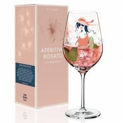 Aperitivo Rosato Aperitif Glass by Andrea Arnolt