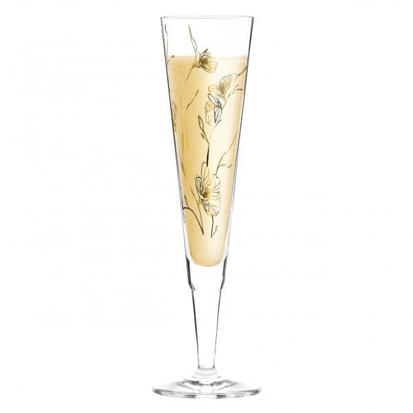 Champus Champagnerglas von Marvin Benzoni (Windflowers)